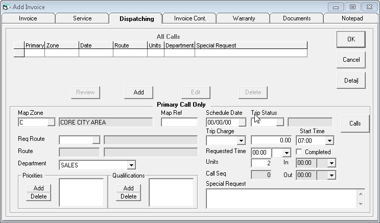Return To Invoice Insurance Excel Scheduling A Sales Invoice Non Profit Tax Receipt with Msrp And Invoice Price The First Time You Schedule An Invoice The All Calls List In The Top Half  Of The Screen Is Empty After Youve Scheduled It For The First Time  Make Online Invoice Pdf