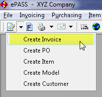 Creating A New Invoice - Best way to create invoices